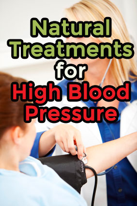 High Blood Pressure Natural Treatments