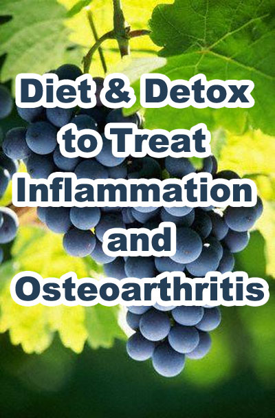 Diet and Detox to Treat Inflammation and Osteoarthritis