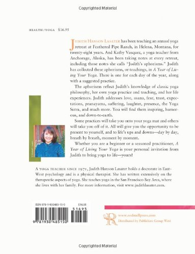 living your yoga by judith lasater The paperback of the living your yoga: finding the spiritual in everyday life by  judith hanson lasater at barnes & noble free shipping on.