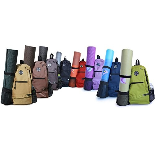 Aurorae-Yoga-Mat-Sport-BagMulti-Purpose-Crossbody-Sling-Backpack-0
