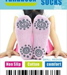BEST-Non-Slip-Skid-Yoga-Pilates-Socks-with-Grips-Cotton-for-Women-Pack-of-4-0-1