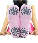 BEST-Non-Slip-Skid-Yoga-Pilates-Socks-with-Grips-Cotton-for-Women-Pack-of-4-0-2