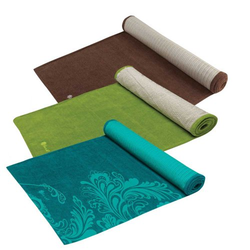 Gaiam Grippy Yoga Mat Towels Wholesomeone Natural Health