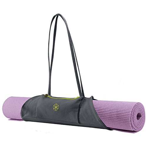 Gaiam On The Go Yoga Mat Carrier Citron Storm