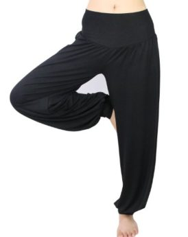 Hoter-Womens-Soft-Elastic-Waistband-Fitness-Yoga-Herem-Pants-0