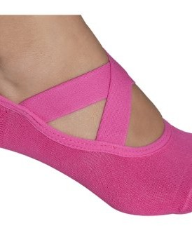 Lupo-Womens-Essential-No-Slip-Crossover-Yoga-Pilates-Socks-0