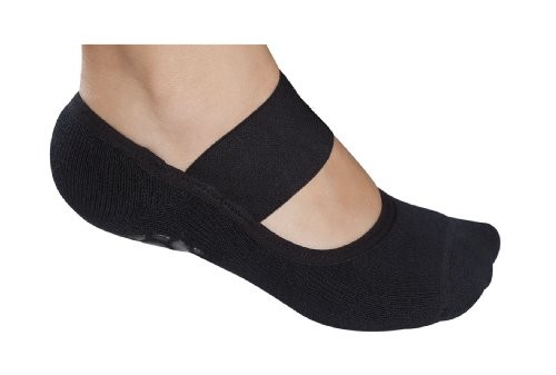 Lupo-Womens-Solid-Yoga-Pilates-Socks-with-Grippers-0