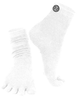 Mato-Hash-Crew-Length-5-Toe-Sport-Performance-Socks-0