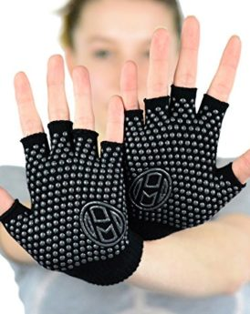 Mato-Hash-Yoga-Pilates-Fingerless-Exercise-Grip-Gloves-Black-0