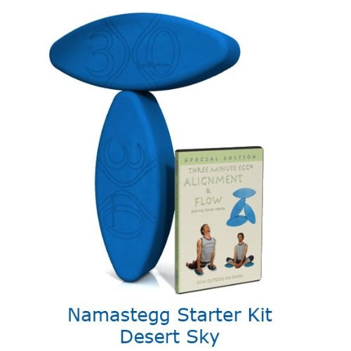 Namastegg-2-Egg-Ergonomic-Yoga-Block-Kit-with-DVD-from-Three-Minute-Egg-0