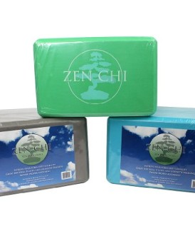 Yoga-Blocks-Set-of-2-Premium-9-x-6-Foam-Wedges-by-Zen-Chi-0
