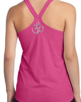 Yoga-Clothing-For-You-Ladies-AUM-Symbol-T-back-Tank-Top-0-2