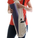 Yoga-Mat-Bag-by-Omkara-Eco-Friendly-Full-Zip-with-Expandable-Cargo-Pocket-Natural-0-2