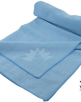 Yoga-Towel-by-Waterglider-Hot-Yoga-100-Microfiber-Mat-size-Length-0