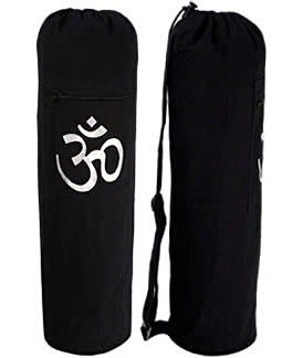 YogaAccessories-TM-Black-OM-Cotton-Yoga-Mat-Bag-0
