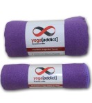 YogaAddict-Yoga-Mat-Towel-and-Hand-Towel-Combo-Set-100-Microfiber-Non-Slip-Super-Absorbent-Ideal-as-Bikram-Ashtanga-Hot-Yoga-Mat-Towel-For-Any-Type-of-Yoga-Styles-Fitness-Pilates-100-Satisfaction-Guar-0