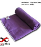 YogaAddict-Yoga-Mat-Towel-and-Hand-Towel-Combo-Set-100-Microfiber-Non-Slip-Super-Absorbent-Ideal-as-Bikram-Ashtanga-Hot-Yoga-Mat-Towel-For-Any-Type-of-Yoga-Styles-Fitness-Pilates-100-Satisfaction-Guar-0-2