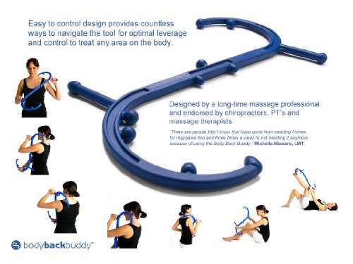 Body Back Buddy Self Massage Tool Wholesomeone Natural
