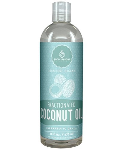 Organic-Fractionated-Coconut-Oil-16-oz-Premium-Coconut-Carrier-Oil-for-Massage-Essential-Oils-and-Aromatherapy-100-Money-Back-Guarantee-by-Rocky-Mountain-Essentials-0