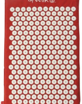 Saffron-Red-Hemp-Acupressure-Massage-Mat-with-carry-bag-0