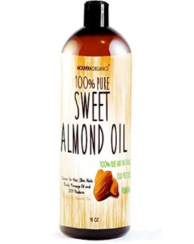 Sweet-Almond-Oil-Molivera-Organics-16-oz-Premium-Grade-A-Cold-Pressed-100-Pure-Best-Natural-Oil-for-Hair-Skin-Scalp-and-Massage-Carrier-Oils-Perfect-for-DIY-HairSkin-Acne-products-Great-for-Aromathera-0