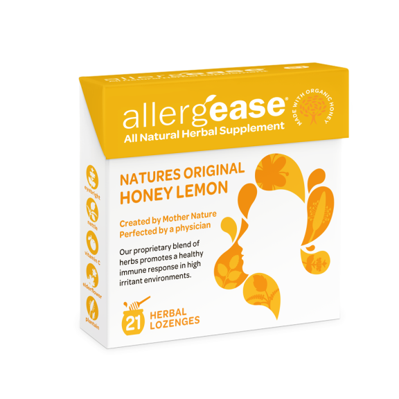 AllergEase - All-Natural Seasonal Allergy Lozenges