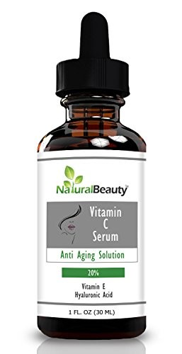 Organic-Vitamin-C-Serum-Hyaluronic-Acid-Serum-Vitamin-E-By-Natural-Beauty-Brand-0