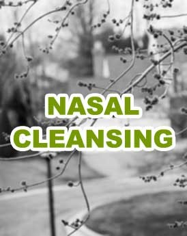 Seasonal Allergy Nasal Cleansing
