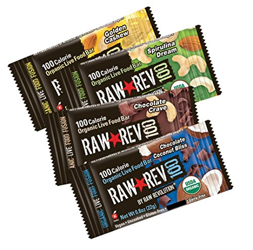 Raw-Rev-100-4-Flavor-Variety-Pack-100-Calorie-Organic-Live-Food-Bar-08-Ounce-Bars-Pack-of-24-0