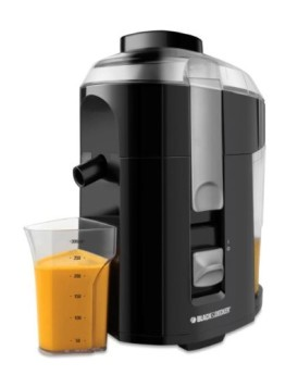 Black-Decker-JE2200B-400-Watt-Fruit-and-Vegetable-Juice-Extractor-with-Custom-Juice-Cup-Black-0