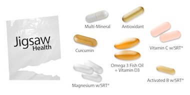 Jigsaw basic essential daily packets best once a day for Recommended daily dose of fish oil