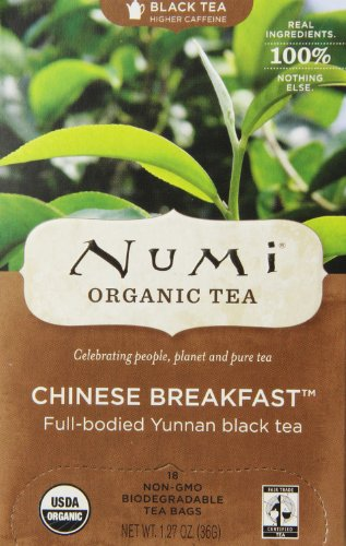 Numi-Organic-Tea-Chinese-Breakfast-Full-Leaf-Black-Tea127-oz-18-Count-Tea-Bags-0