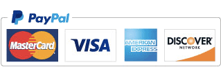 Accepting payment with PayPal, Mastercard, Visa, American Express and Discover