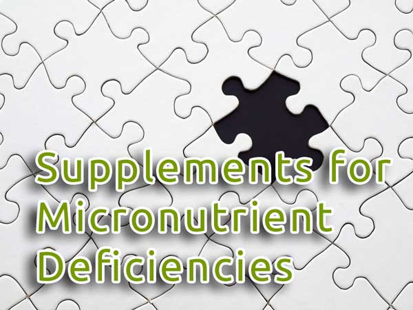 Supplements for Micronutrient Deficiencies post image