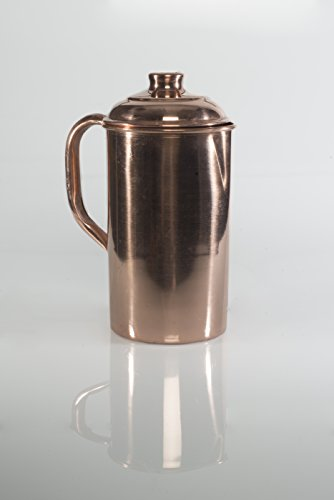 Tamba-Pani-Jug-with-Lid-Handmade-Ayurvedic-Copper-Vessel-for-Yogis-0