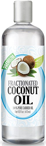 Fractionated-Coconut-Oil-16oz-100-Pure-Premium-Therapeutic-Grade-Best-Base-or-Carrier-Oil-for-Aromatherapy-Essential-Oil-and-Massage-Numerous-Hair-Skin-Benefits-and-Perfect-for-use-in-Creams-Shampoos--0