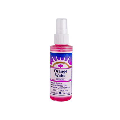 Heritage Store Atomizer Flower Water - Orange - 4 oz