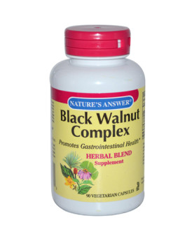 Nature's Answer Black Walnut Complex - 90 Vegetarian Capsules
