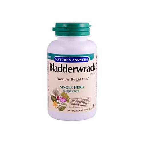 Nature's Answer Bladderwrack Thallus - 90 Vegetarian Capsules