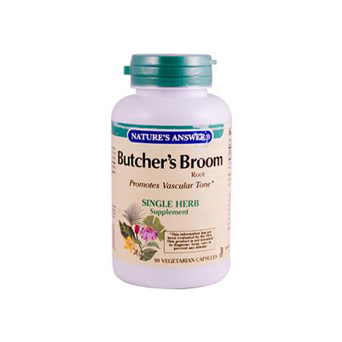 Nature's Answer Butcher's Broom Root - 90 Vegetarian Capsules