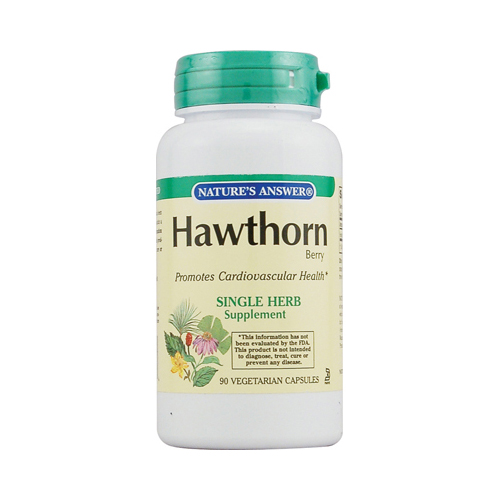 Nature's Answer Hawthorn Berry - 90 Vegetarian Capsules