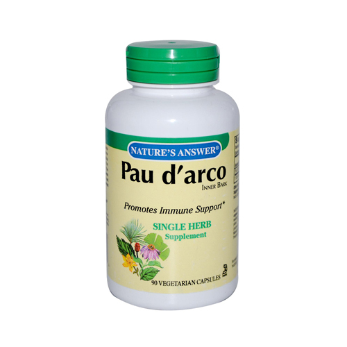 Nature's Answer Pau d'arco Inner Bark - 90 Capsules