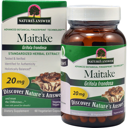 Nature's Answer Maitake Bio-Beta-Glucan - 60 Vegetarian Capsules