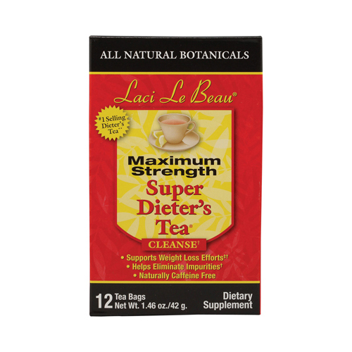 Laci Le Beau Maximum Strength Super Dieter's Tea - 12 Tea Bags