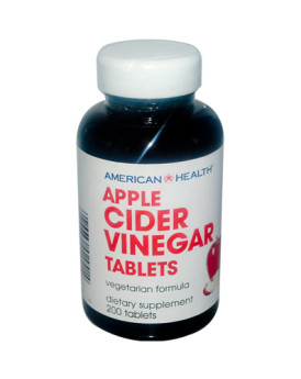 American Health Apple Cider Vinegar - 300 mg - 200 Tablets