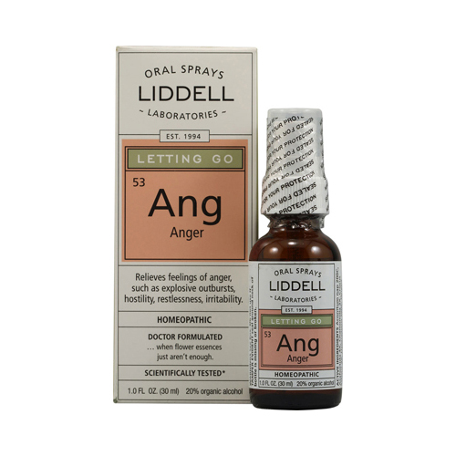 Liddell Homeopathic Letting Go Ang Anger Spray - 1 fl oz