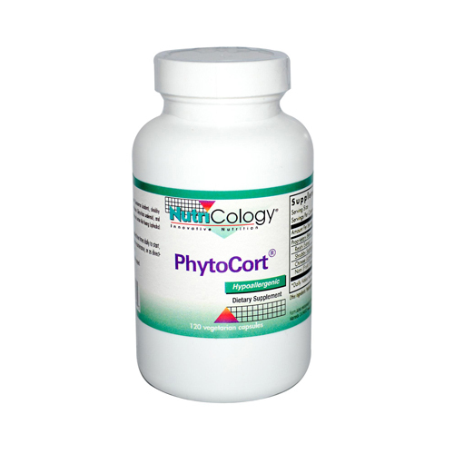 NutriCology PhytoCort - 120 Vegetarian Capsules