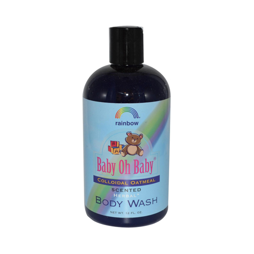 Rainbow Research Baby Oh Baby Organic Herbal Wash Colloidal Oatmeal Scented - 12 fl oz