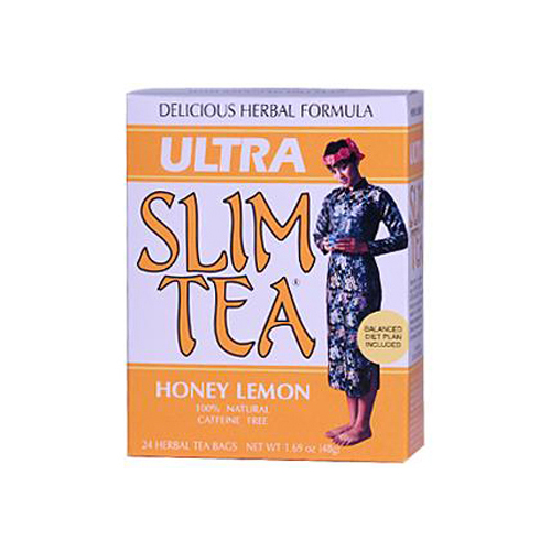 Hobe Labs Ultra Slim Tea Honey Lemon - 24 Tea Bags
