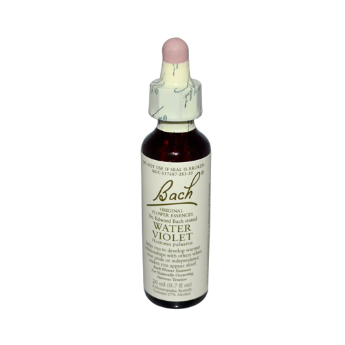 Bach Flower Remedies Essence Water Violet - 0.7 fl oz